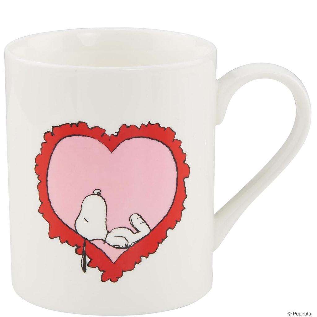 PEANUTS Hrnek Snoopy srdce