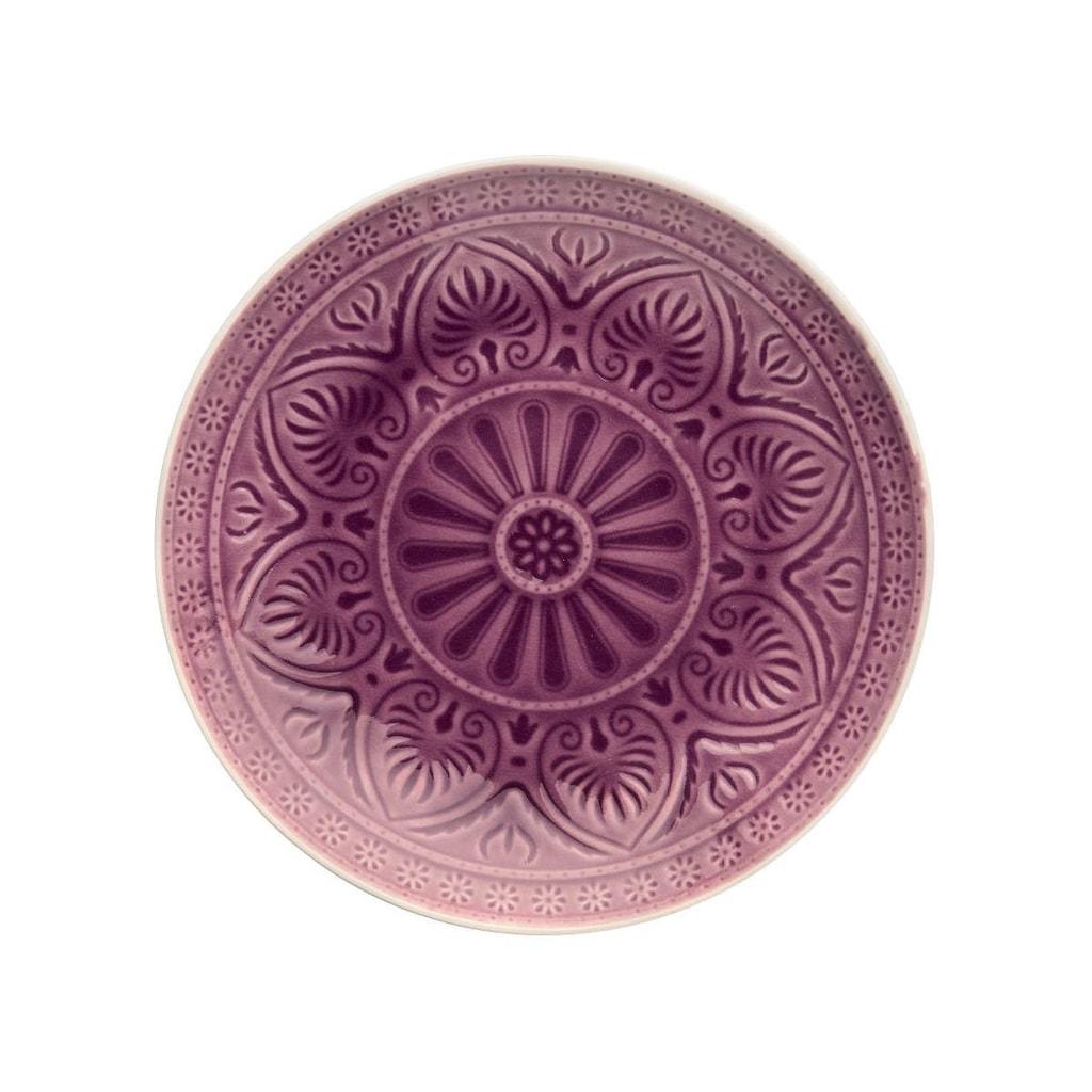 SUMATRA Talíř 25 cm - fialová