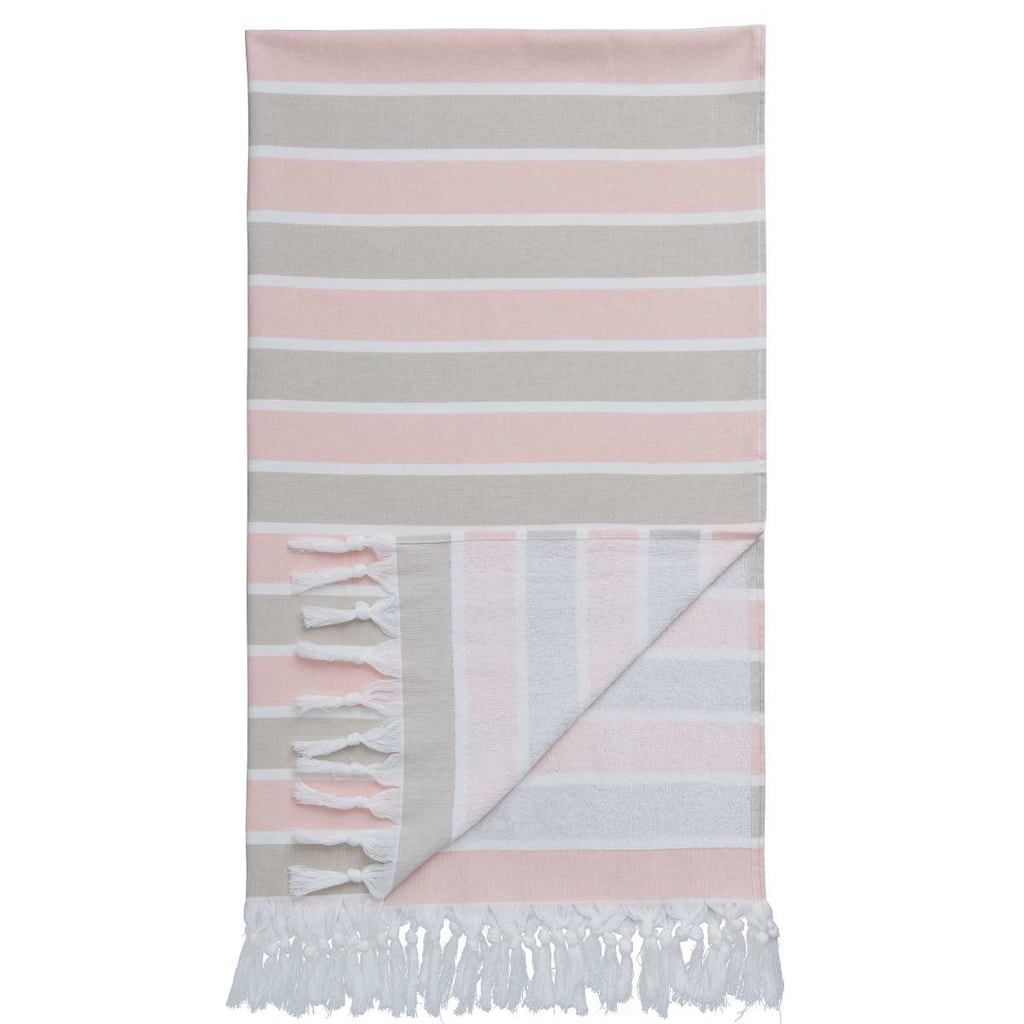 MEDITERANO Hamam ručník 95x170 cm - růžová