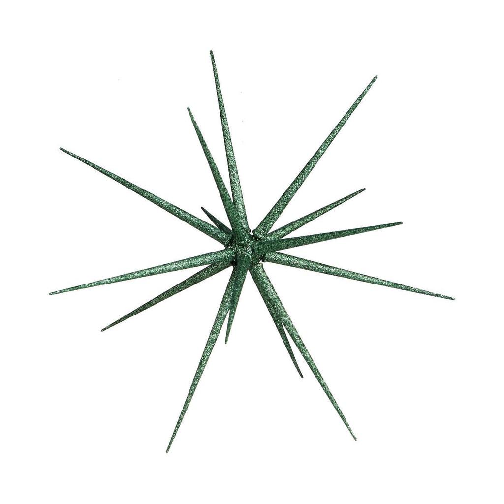 Fotografie HALE BOPP Vánoční hvězda 35 cm - zelená