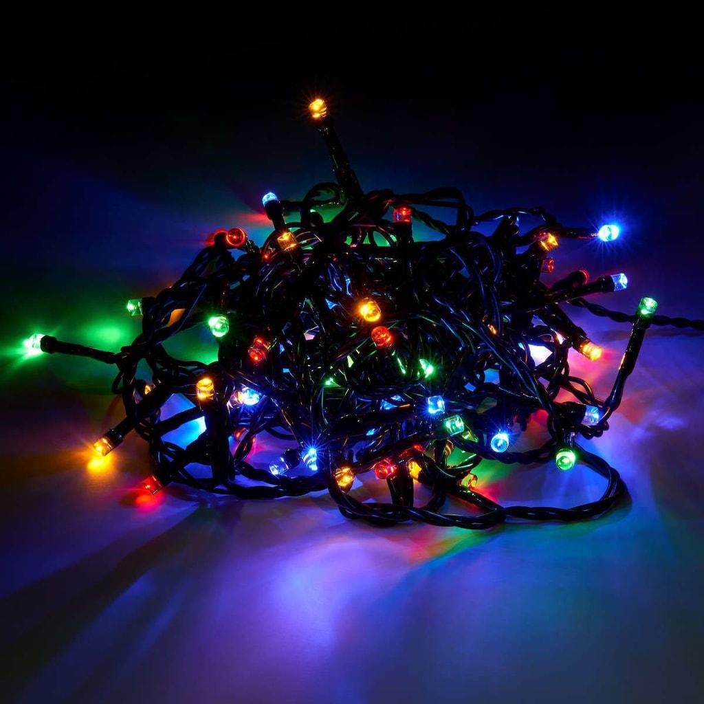 BRIGHT NIGHT LED Světelný řetěz 80 světel