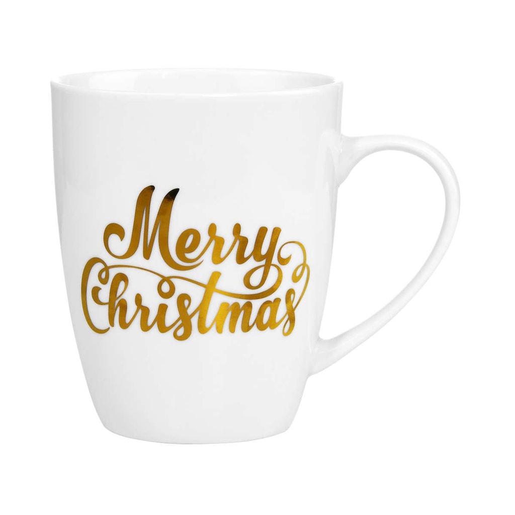 WHITE XMAS Hrnek Merry Christmas