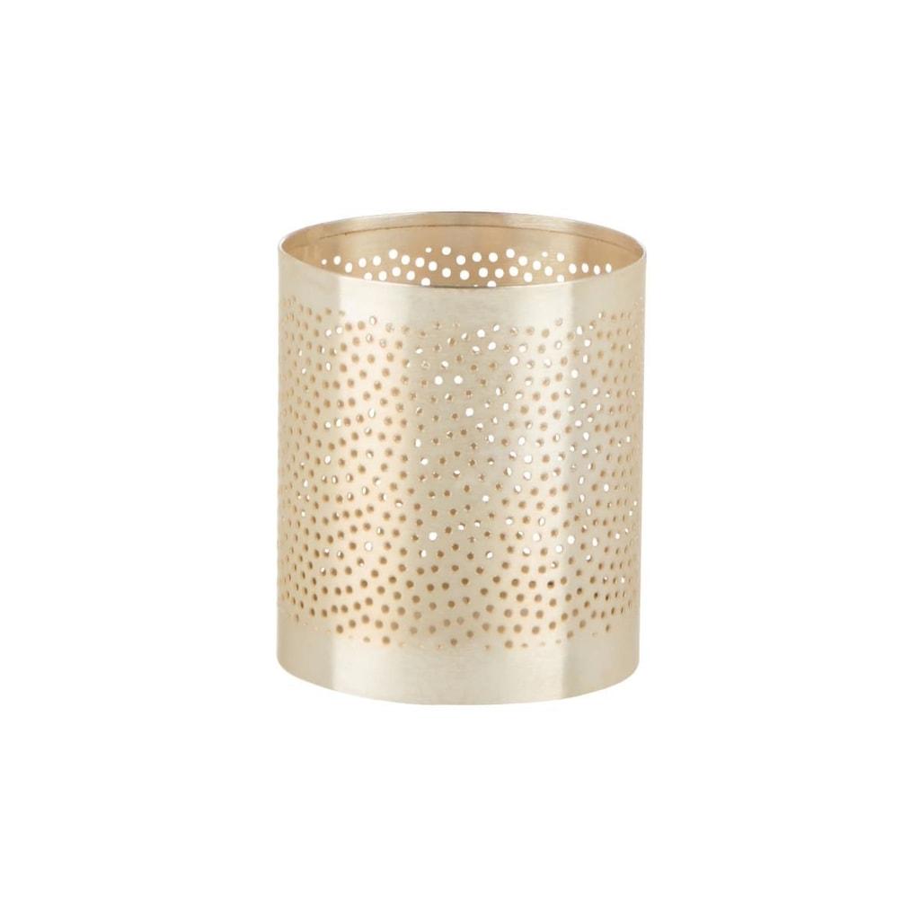 ARABIAN NIGHTS Svícen na čajovou svíčku puntíky 9,5 cm