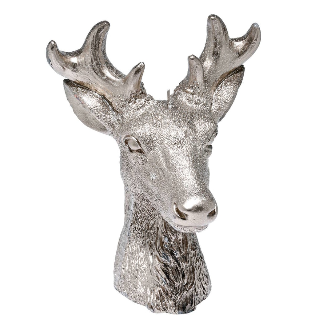 FLAMBEAU Svíčka Hlava jelena 18 cm