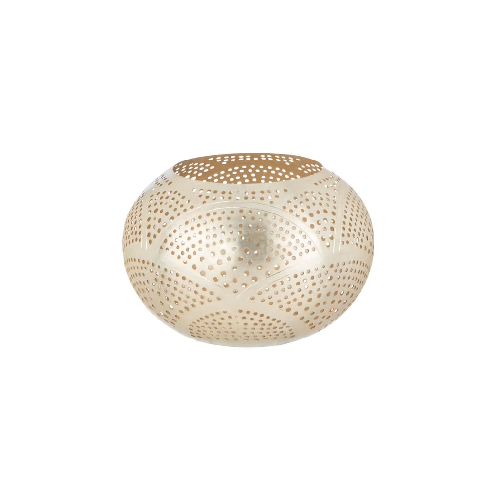 ARABIAN NIGHTS Svícen na čajovou svíčku kudrnky 15,5 cm