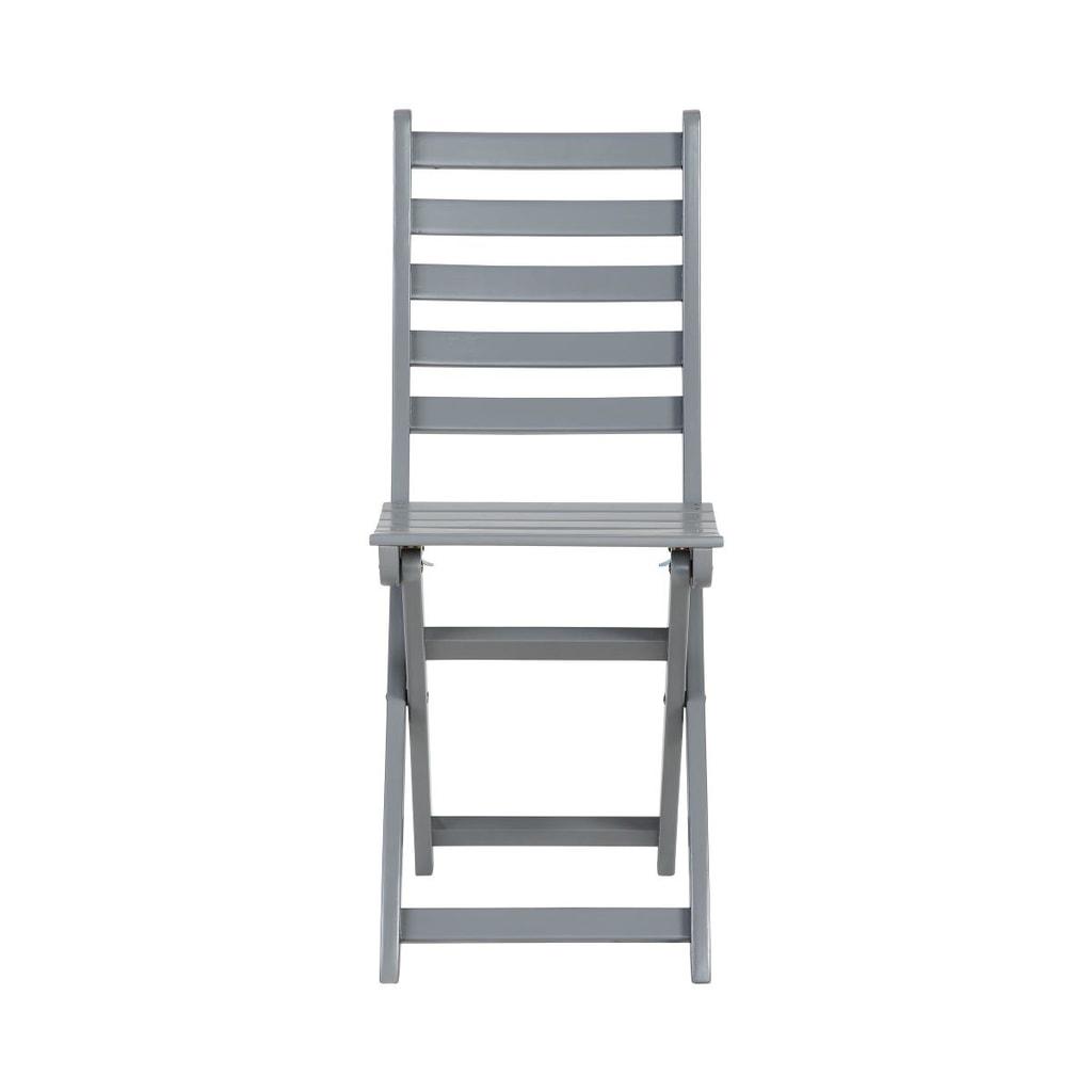 LODGE Skládací židle - šedá