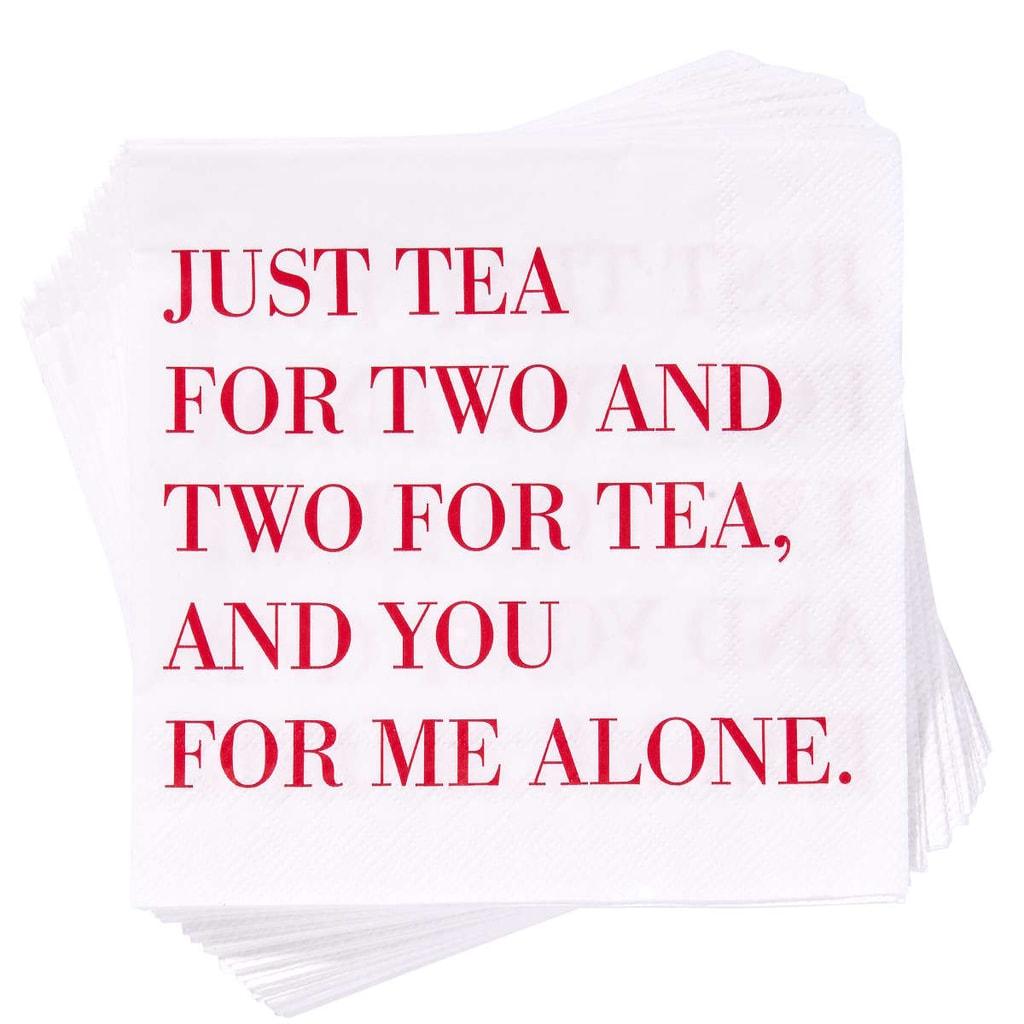 "APRÉS Papírové ubrousky ""Just Tea..."""