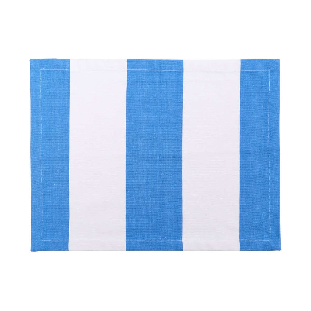 MIAMI BEACH Prostírání 33x45 cm - modrá/bílá