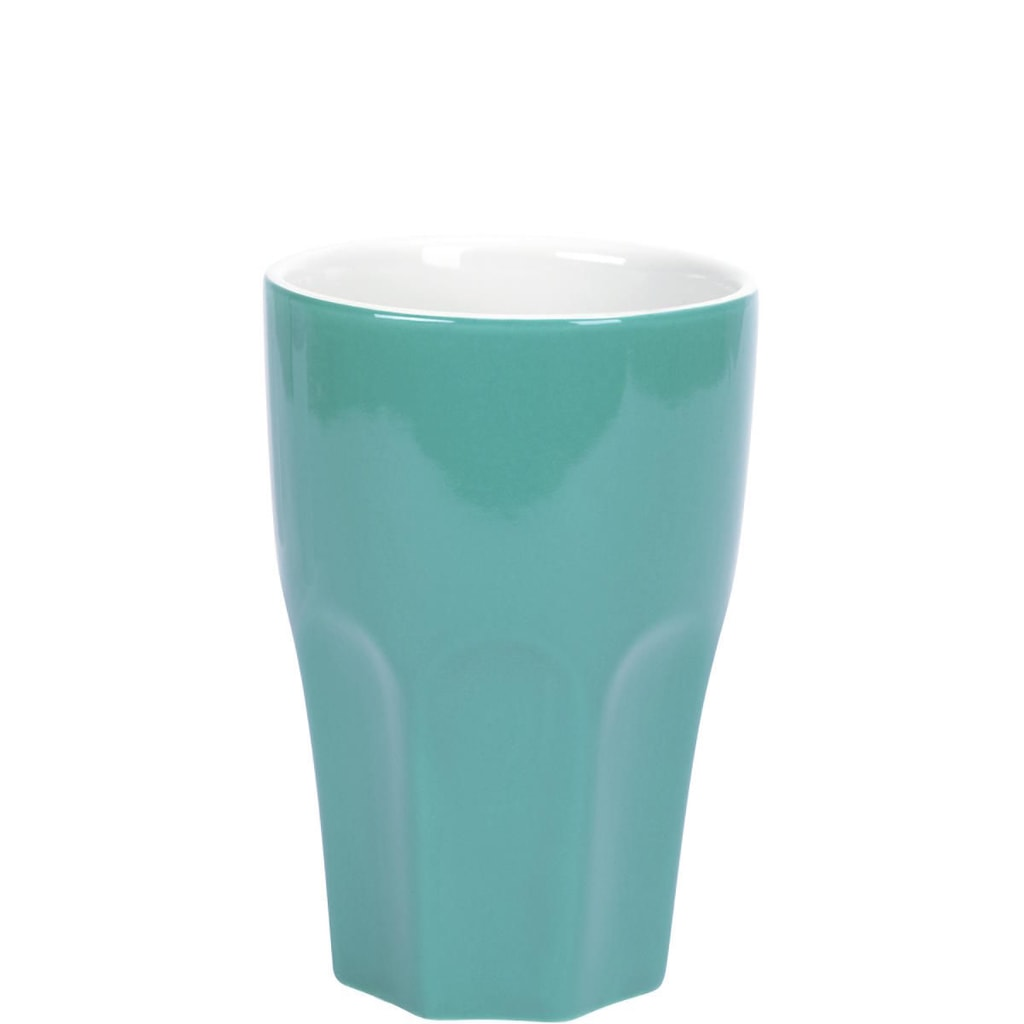 MIX IT! Hrnek Café Latte - sv. modrá