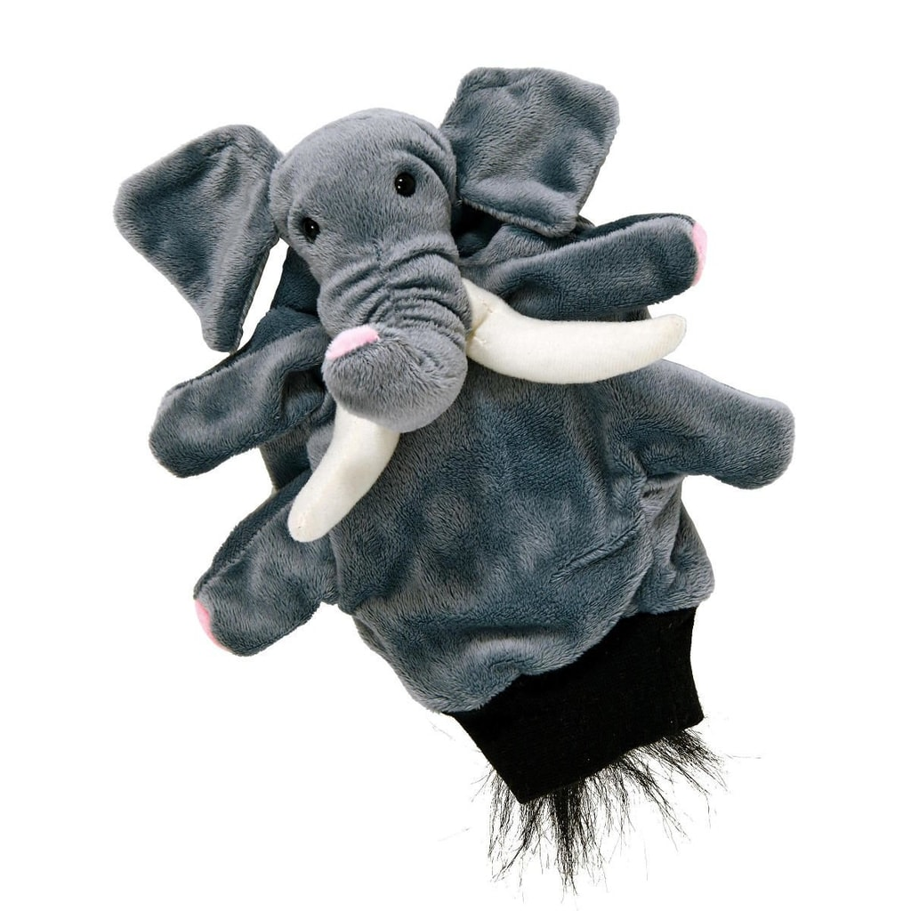 WILD GUYS Maňásek na ruku slon