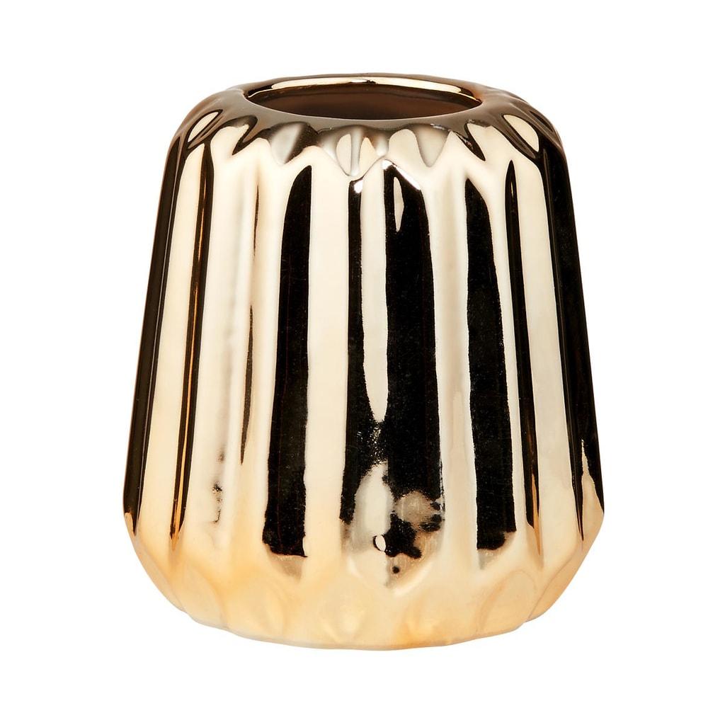 LILIPOT Váza mini 8 cm - zlatá