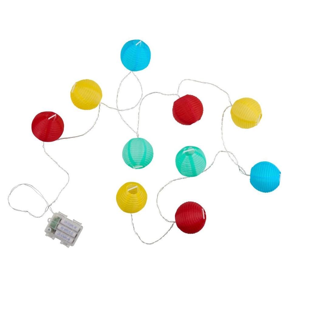 OPEN AIR LED Světelný řetěz venkovní 10 světel - mix