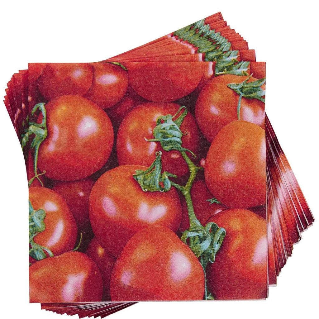 APRÉS Papírové ubrousky rajčata