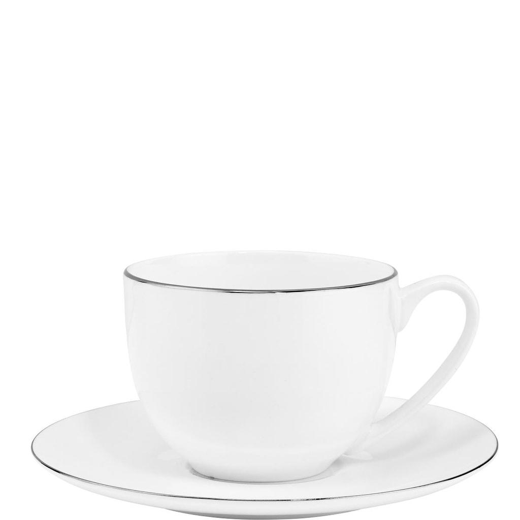 SILVER LINING Šálek na kávu s podšálkem