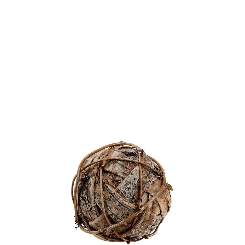 Fotografie WINTERGREEN Dekorační koule z břízy