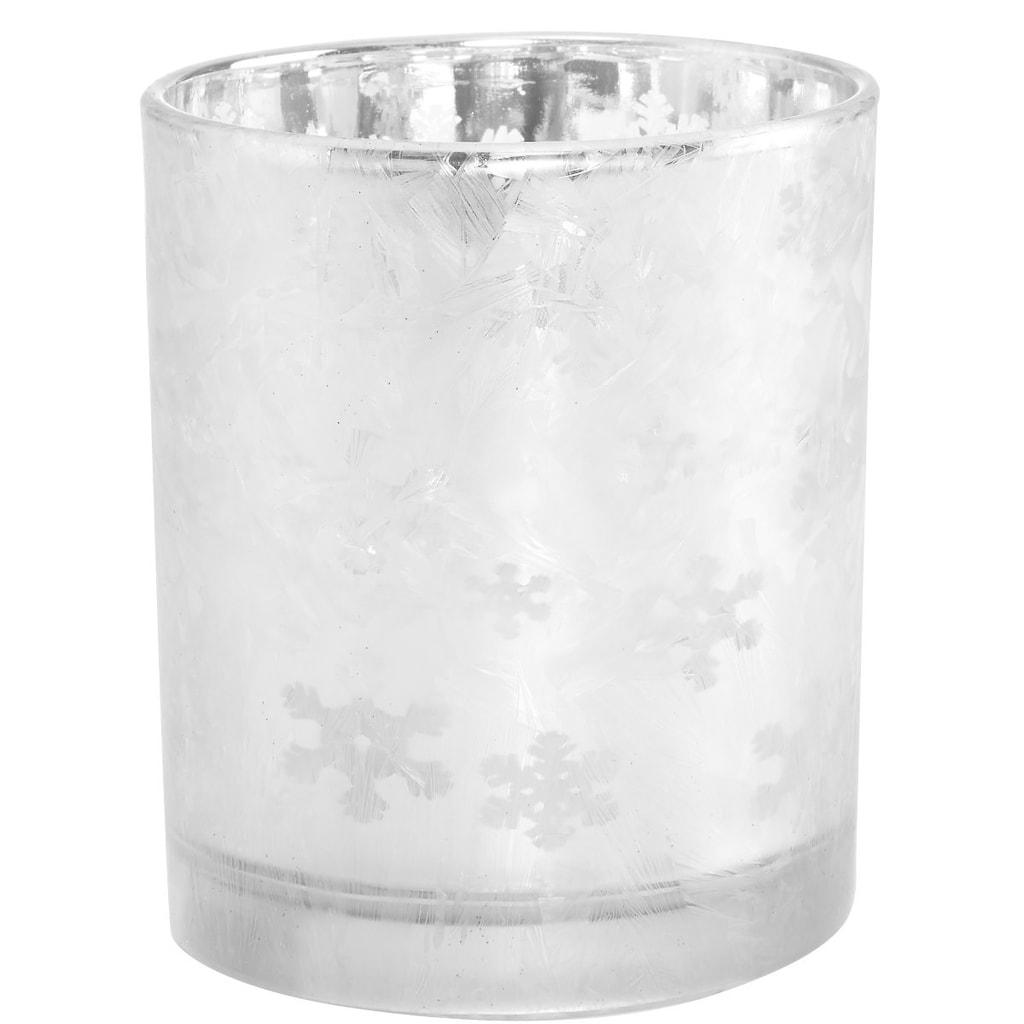 DELIGHT Svícen s ledovými krystaly
