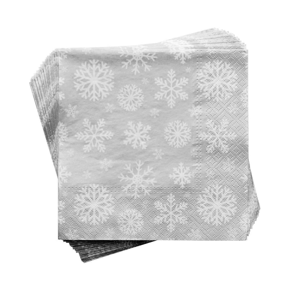 APRÉS Papírové ubrousky sněhová vločka