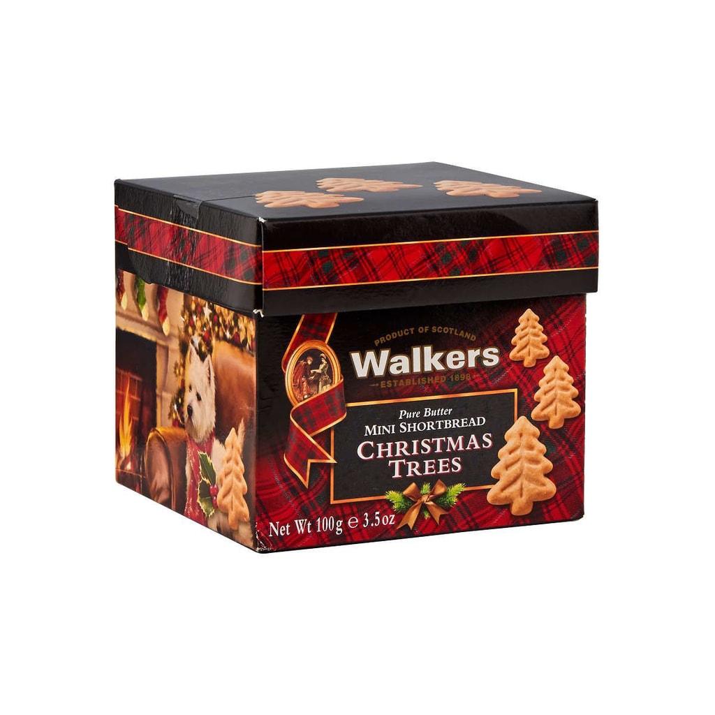 WALKERS Máslové sušenky vánoční stromky 100 g