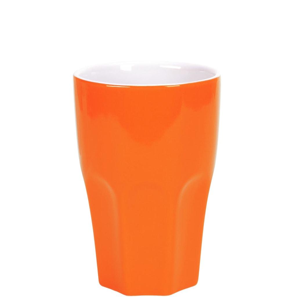 MIX IT! Hrnek Café latte - oranžová