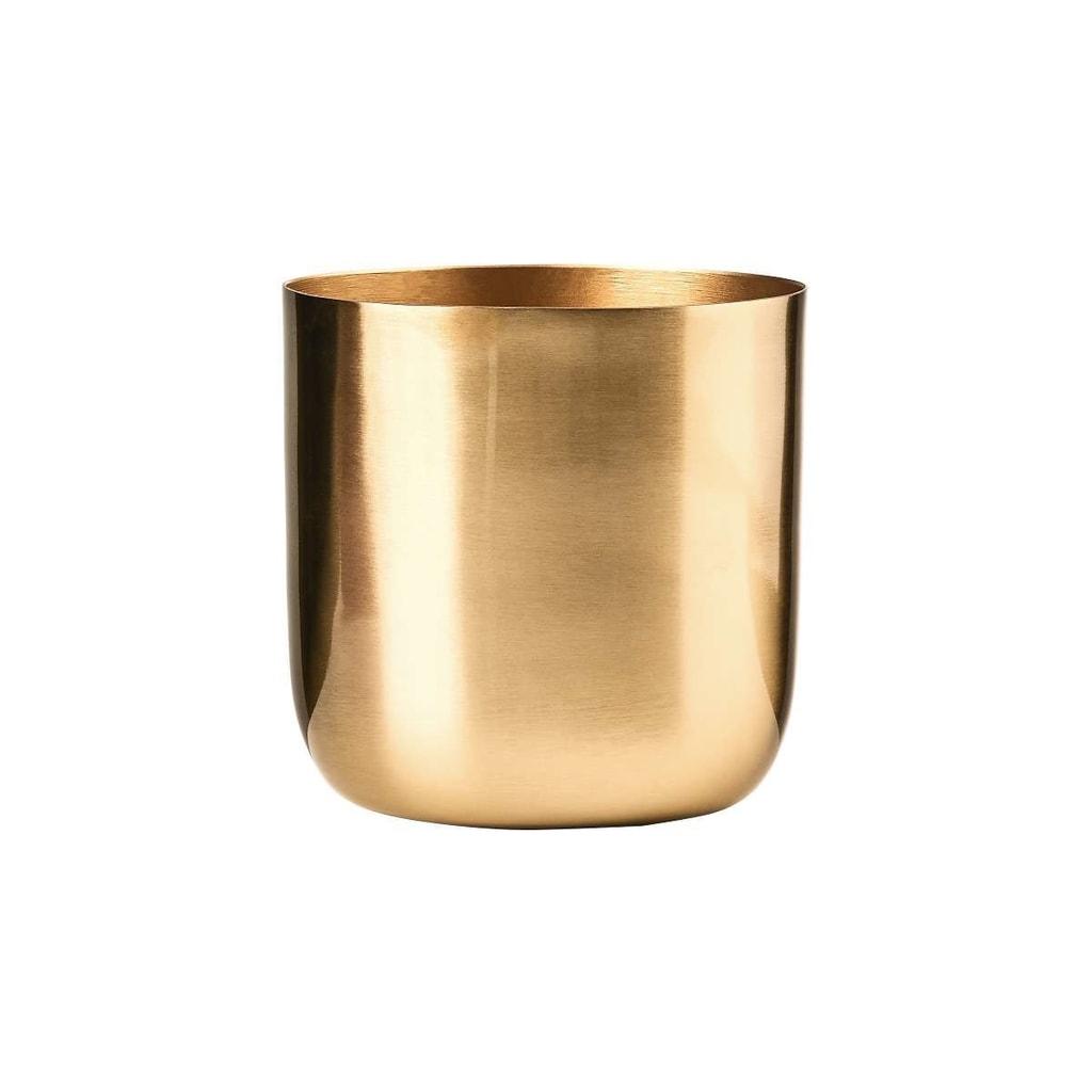 GOLDEN GLAM Svícen na čajovou svíčku 9 cm