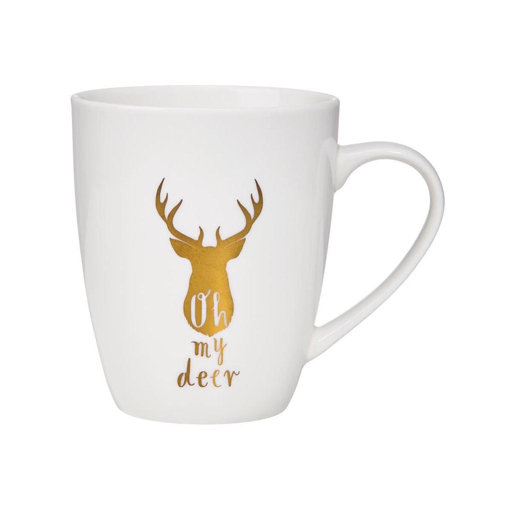 """WHITE XMAS Hrnek """"Oh my deer"""" 350 ml"""