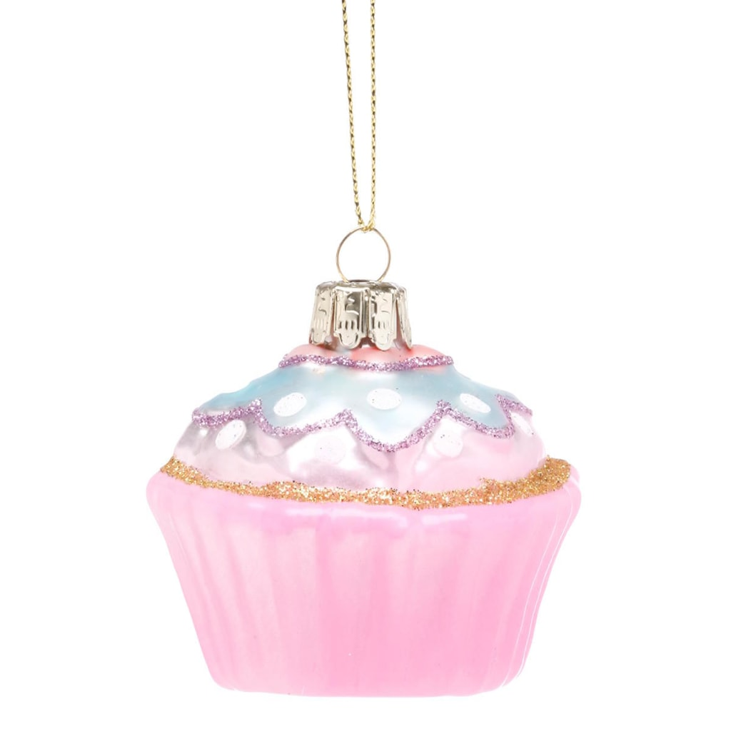 HANG ON Ozdoba cupcake - růžová