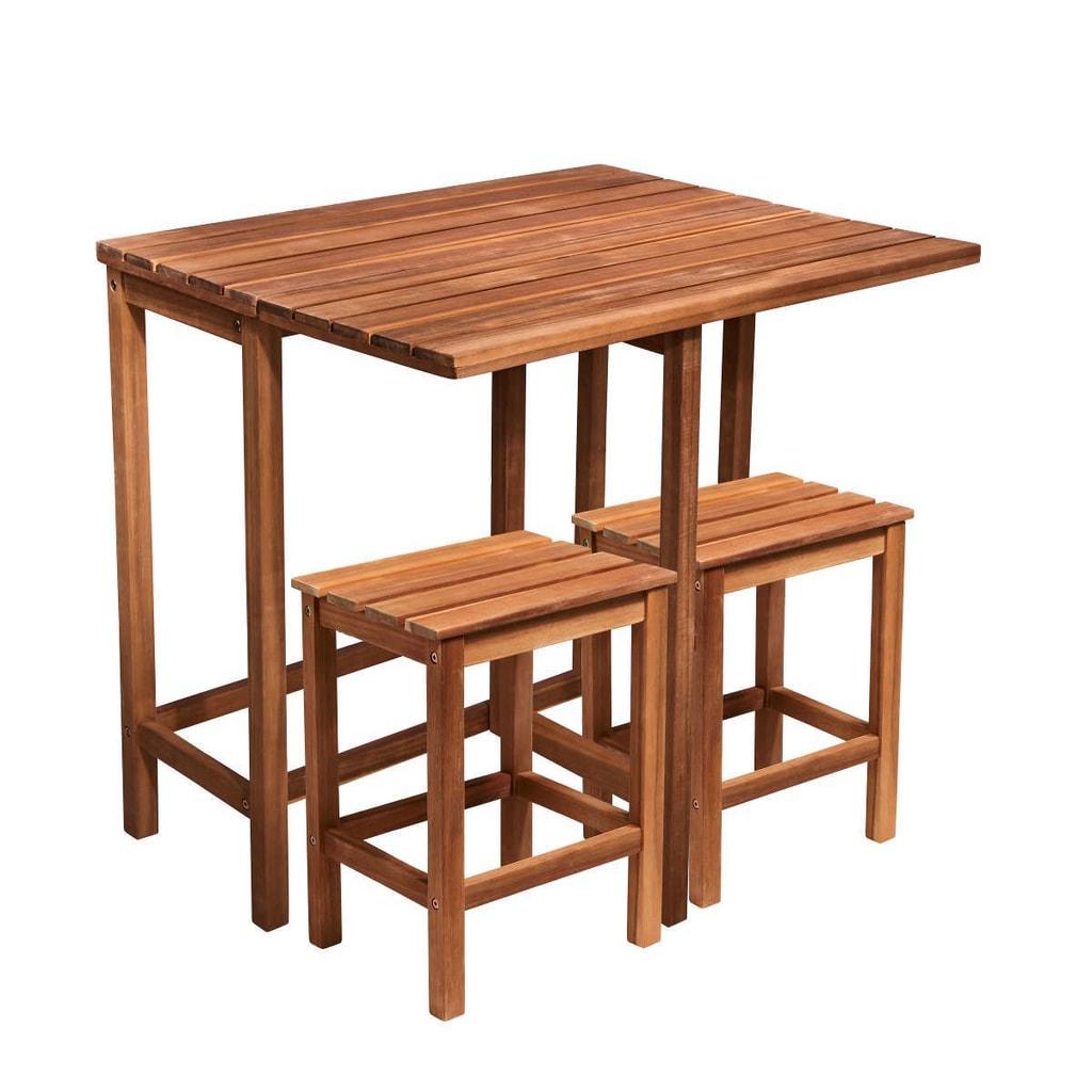 SIT & SUN Balkónový set se 2 stoličkami