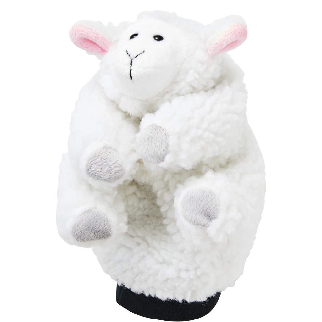 WILD GUYS Maňásek na ruku ovečka