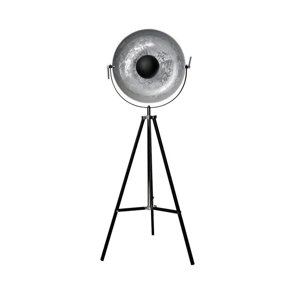 SATELLIGHT Stojací lampa 60 cm - černá/stříbrná