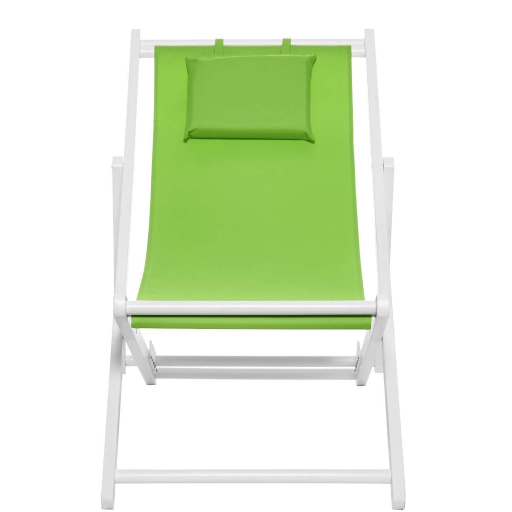 BEACH BOY Plážové lehátko - zelená