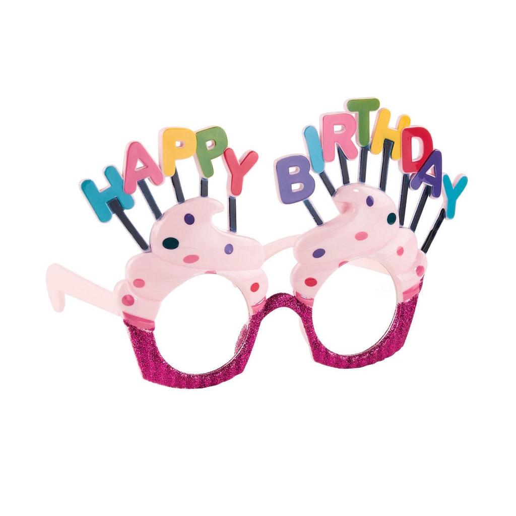 "PARTY Brýle ""Happy Birthday"""