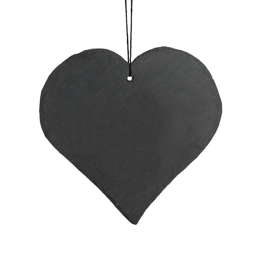 NAME IT! Srdce břidlicové 20 cm
