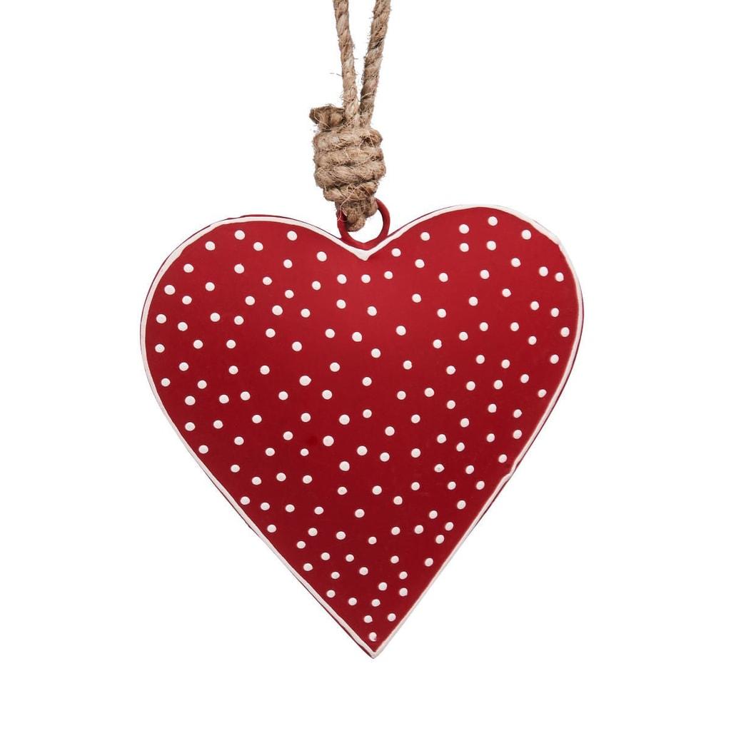 HANG ON Závěsná ozdoba srdce