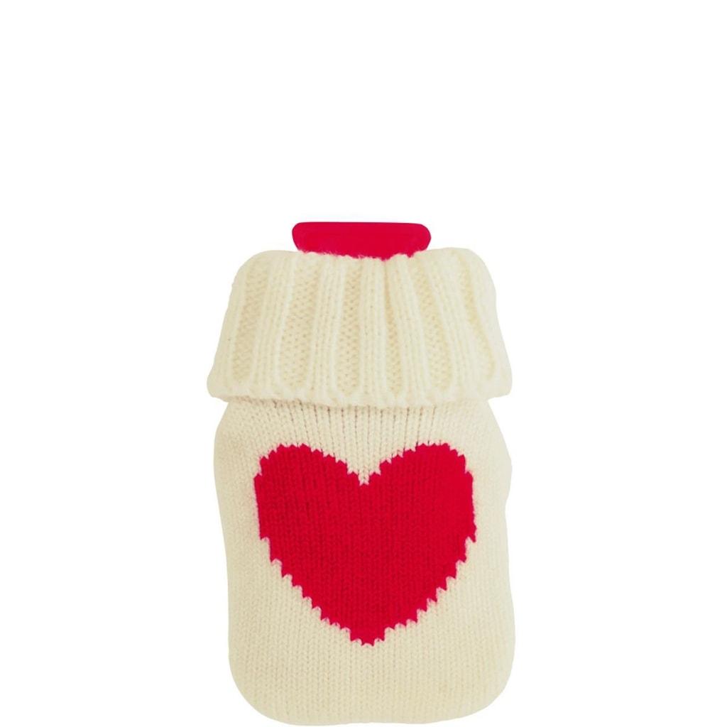 HOT HANDS Ohřívač rukou srdce - bílá/červená