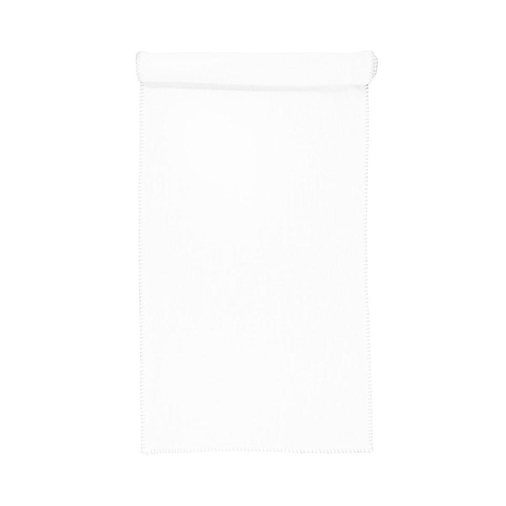 FINCA Běhoun na stůl 50 x 160 cm - bílá