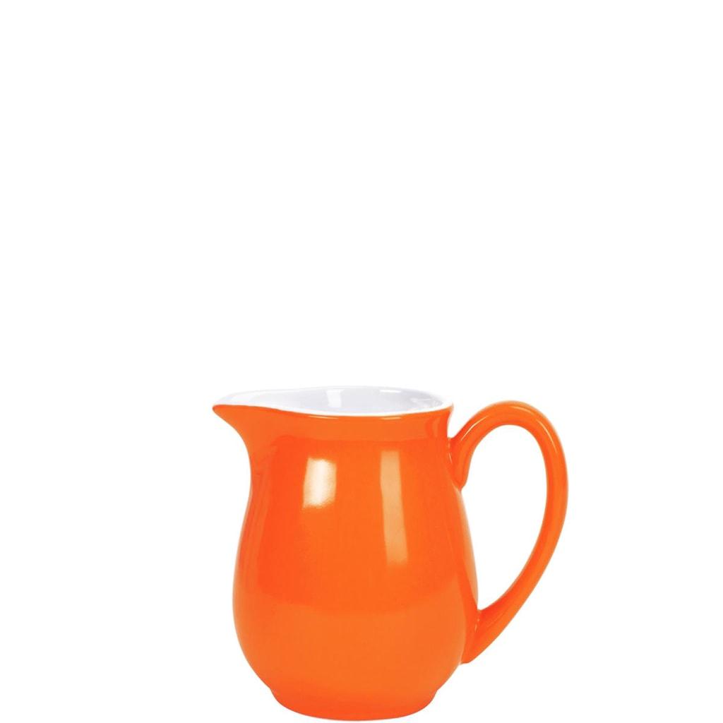 MIX IT! Konvička na mléko 250 ml - oranžová