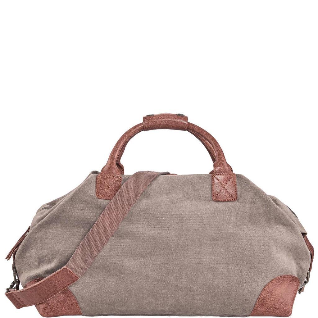 TRAVELLER Plátěná taška - hnědá
