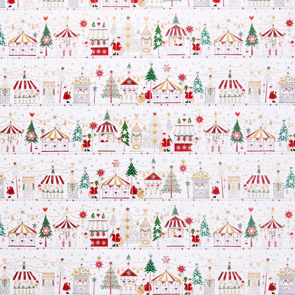 SURPRISE Balící papír vánoční trh