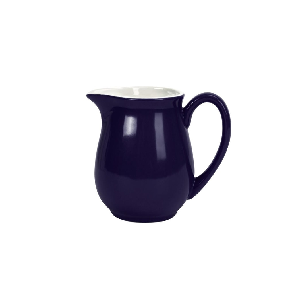 MIX IT! Konvička na mléko 250 ml - modrá