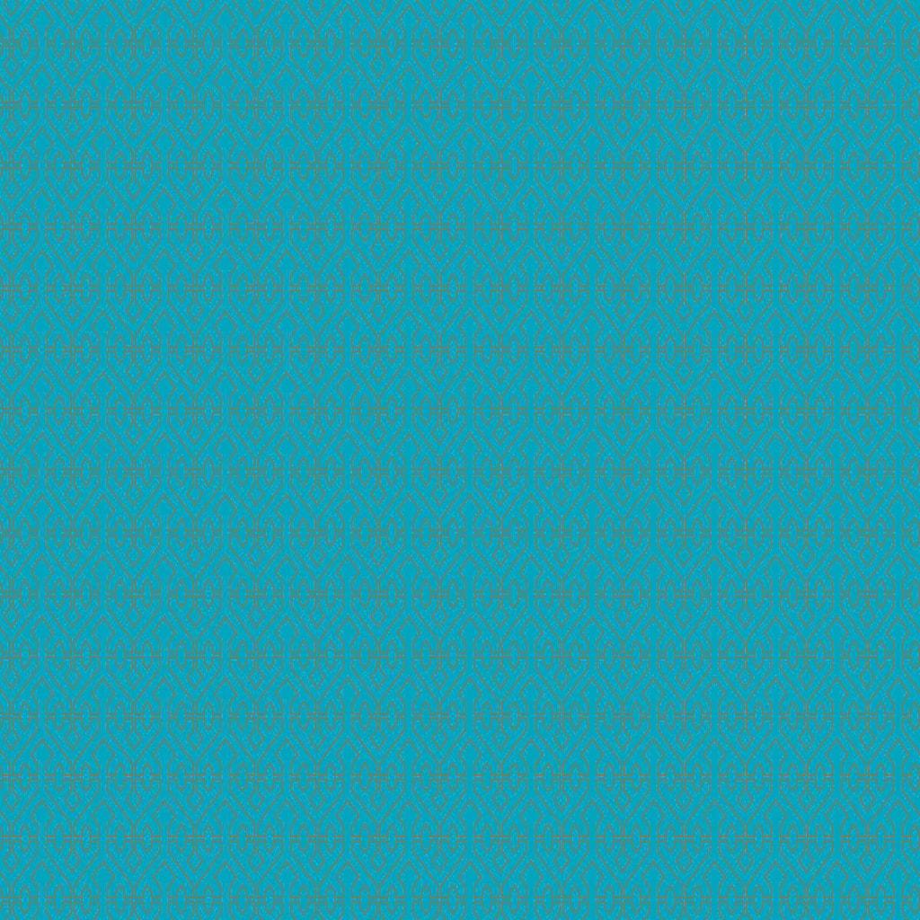 SURPRISE Dárkový papír grafický vzor - tyrkysová