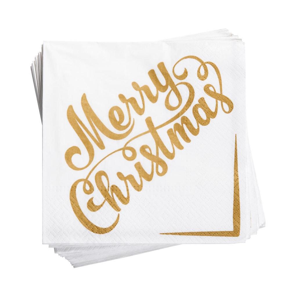 APRÉS Papírové ubrousky Merry Christmas