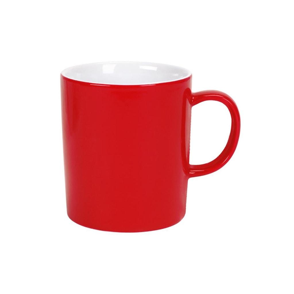 MIX IT! Hrnek na kávu - červená