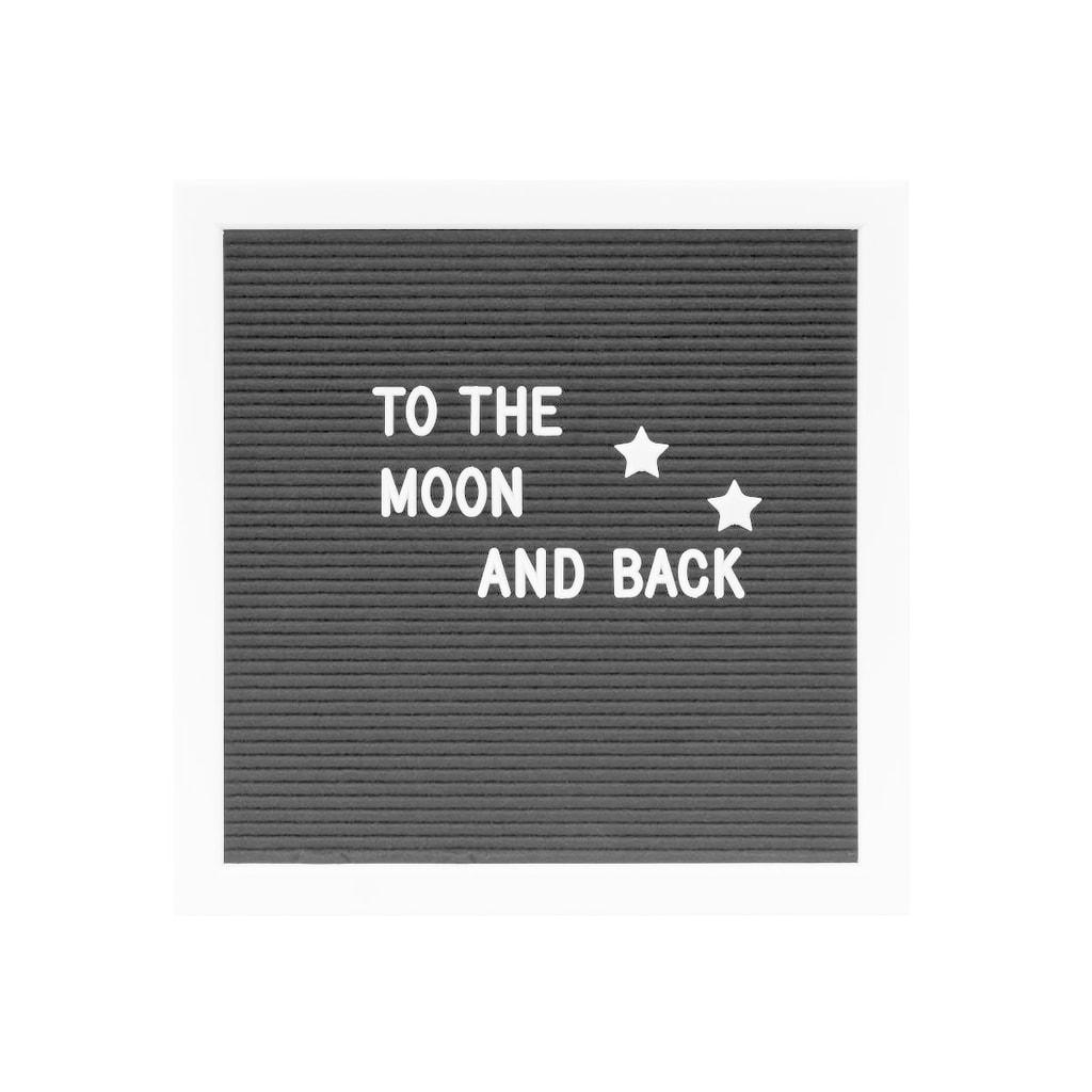 Fotografie MESSAGE BOARD Tabule na vzkazy 30 x 30 cm