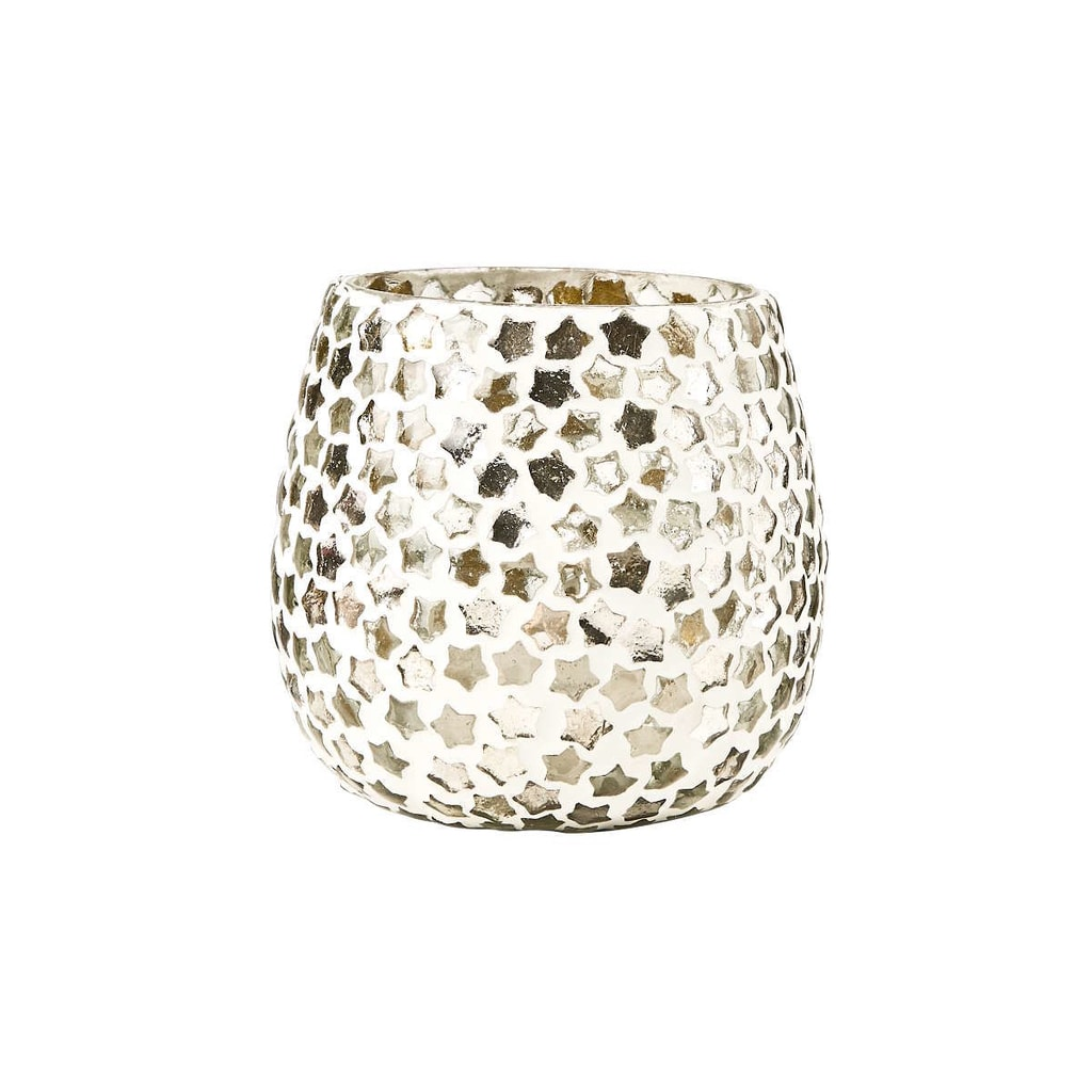 STARLIGHT Svícen na čajovou svíčku 9 cm