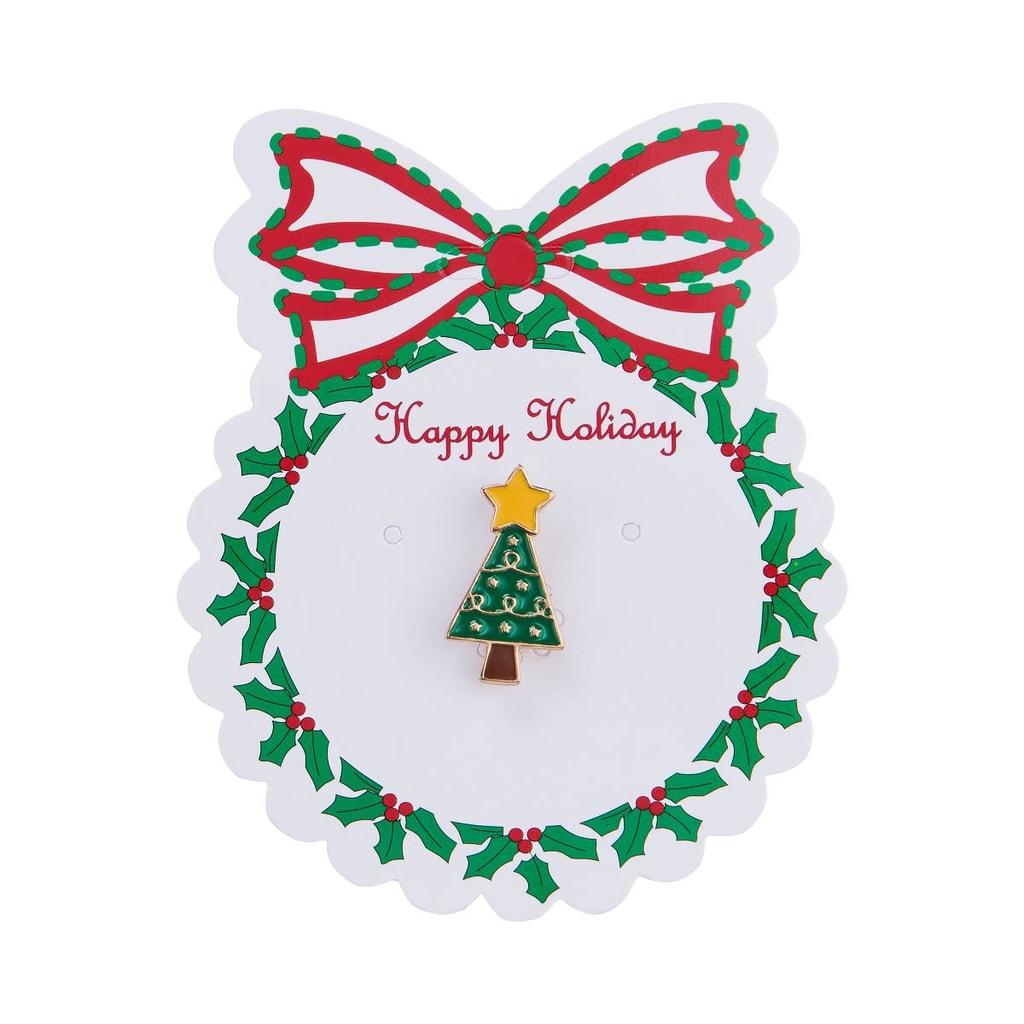 X-MAS Připínáček vánoční stromek