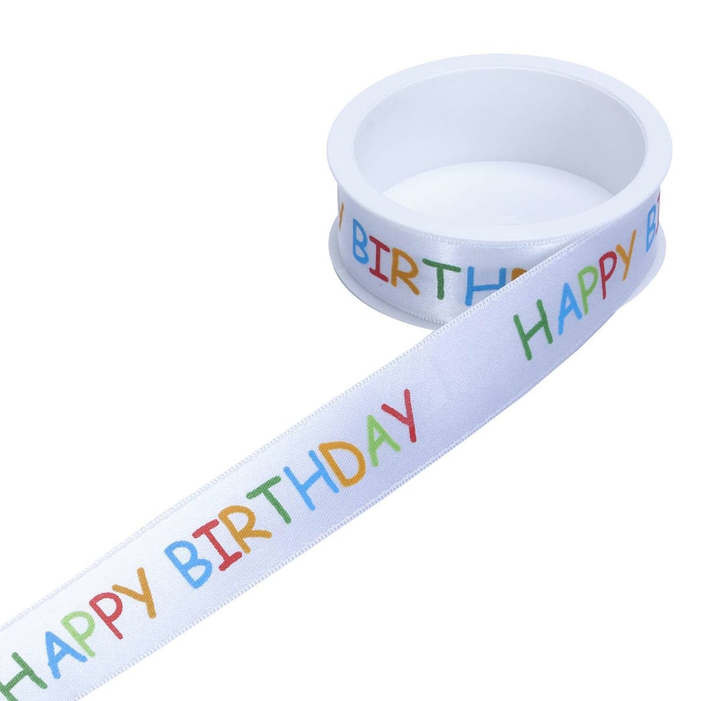 RIBBON Stužka Happy Birthday