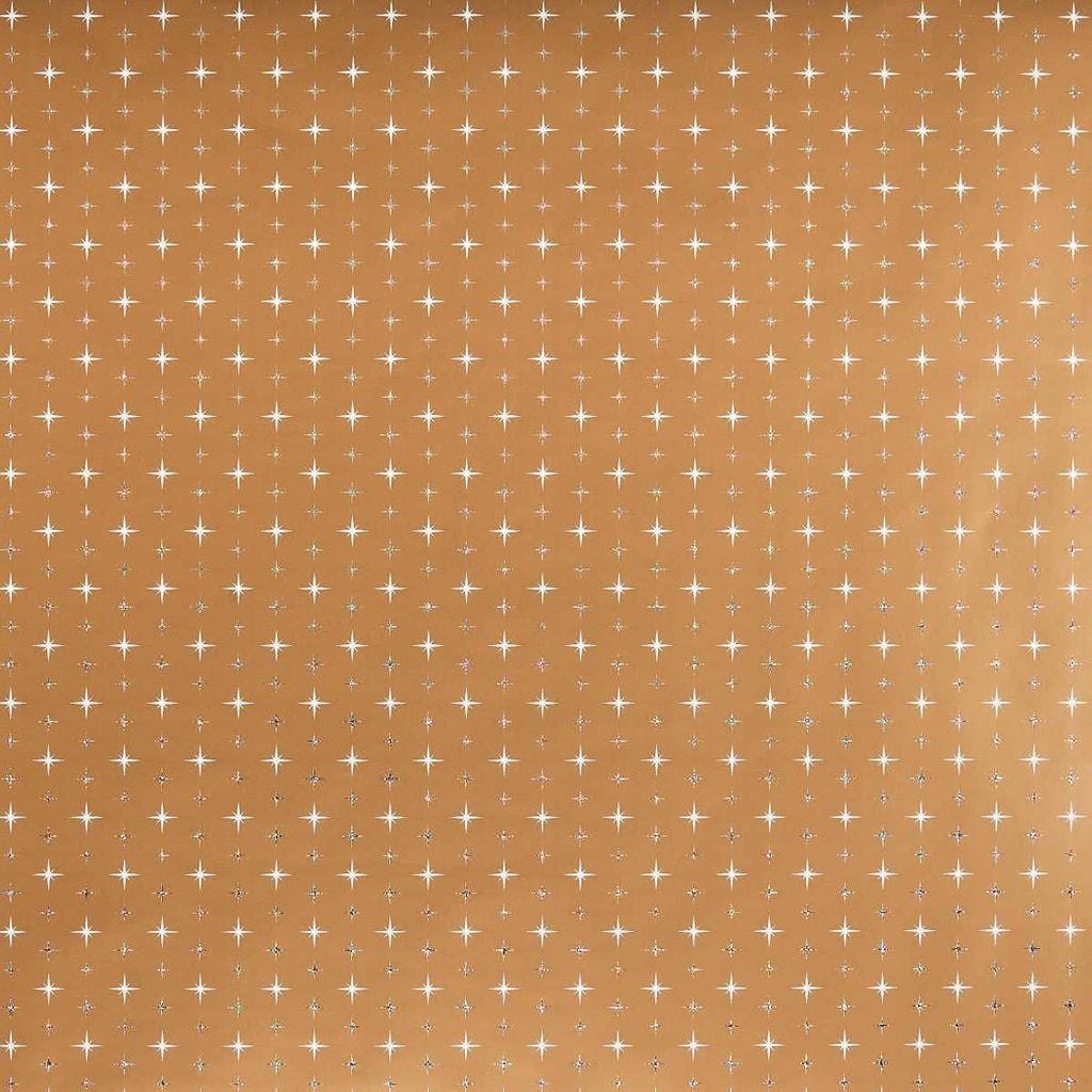 SURPRISE Balící papír polárka - zlatá