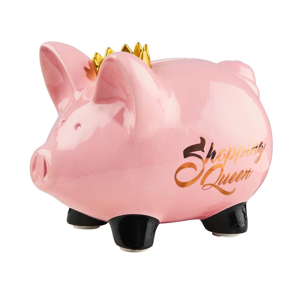 """MONEYMAKER Kasička """"Shopping queen"""""""