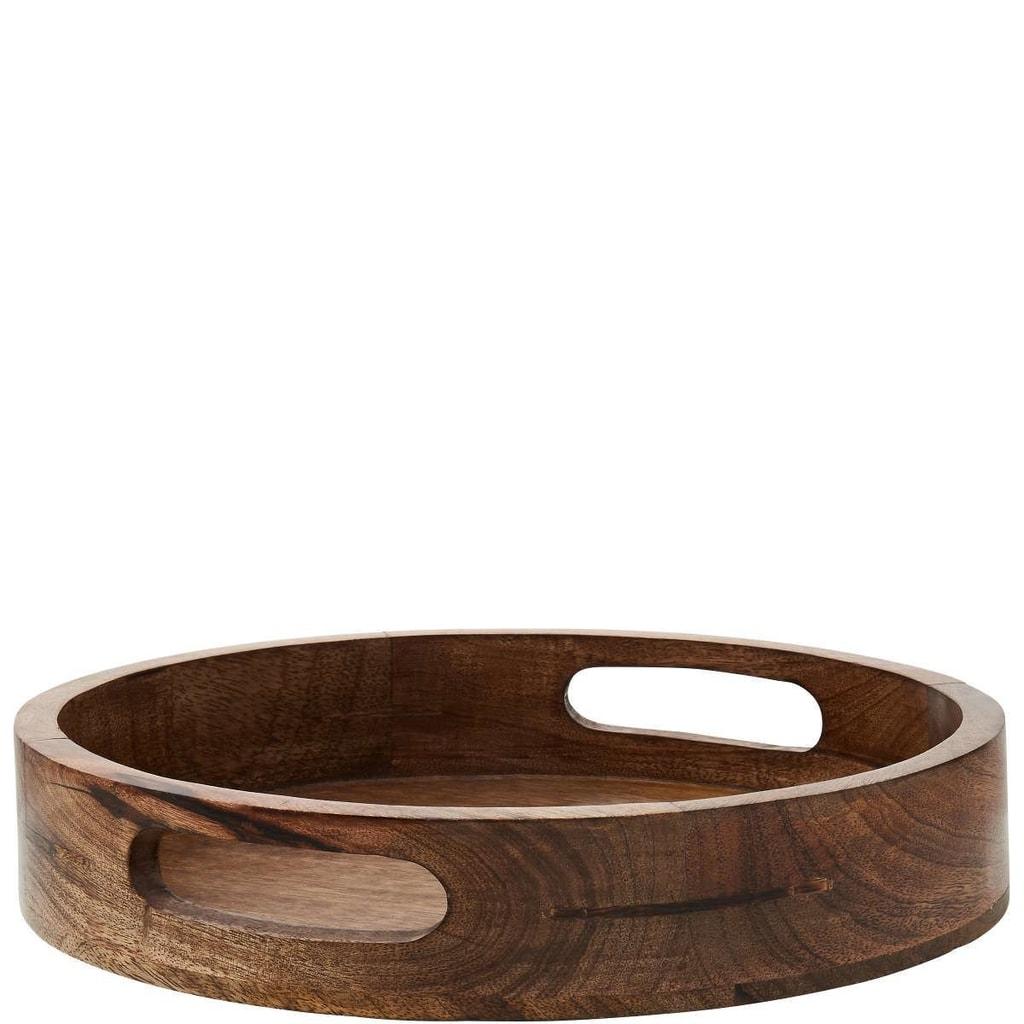 MANGO DAYS Podnos z mangového dřeva 30 cm