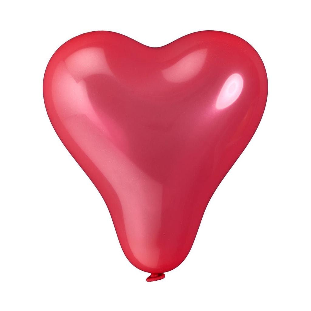 UPPER CLASS Balónky srdce set 10 ks